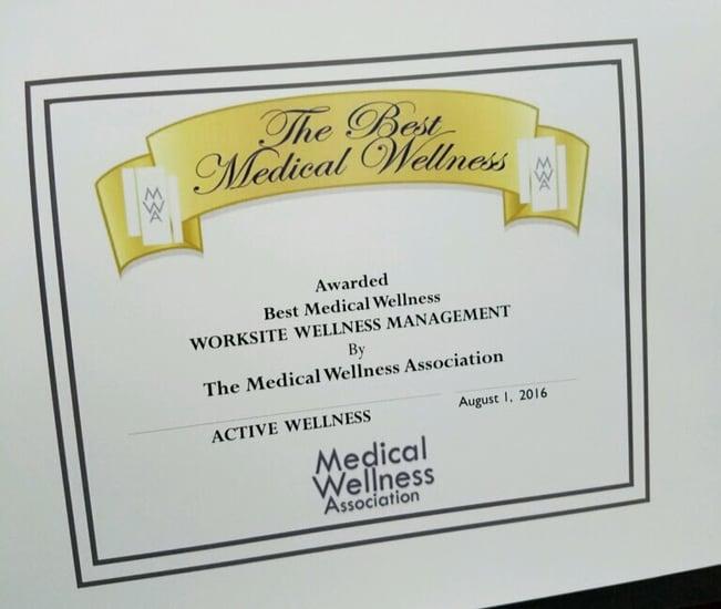 Active Wellness, #ActiveWellness, Medical Wellness Association
