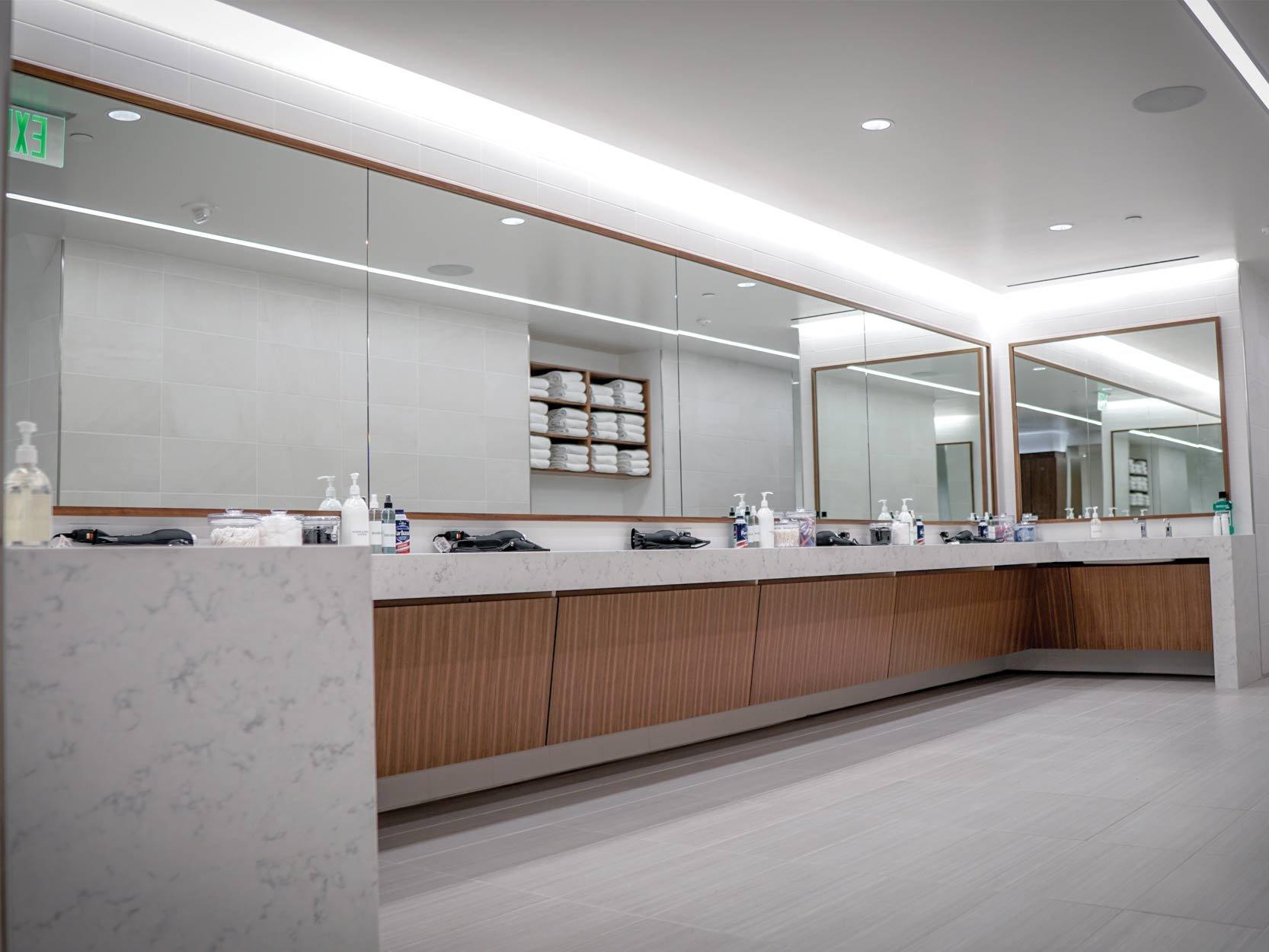 Century Plaza Locker Room