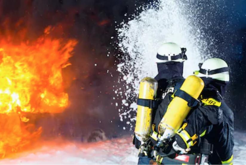 FireFlex Breathing Practice Saves Oxygen Tank
