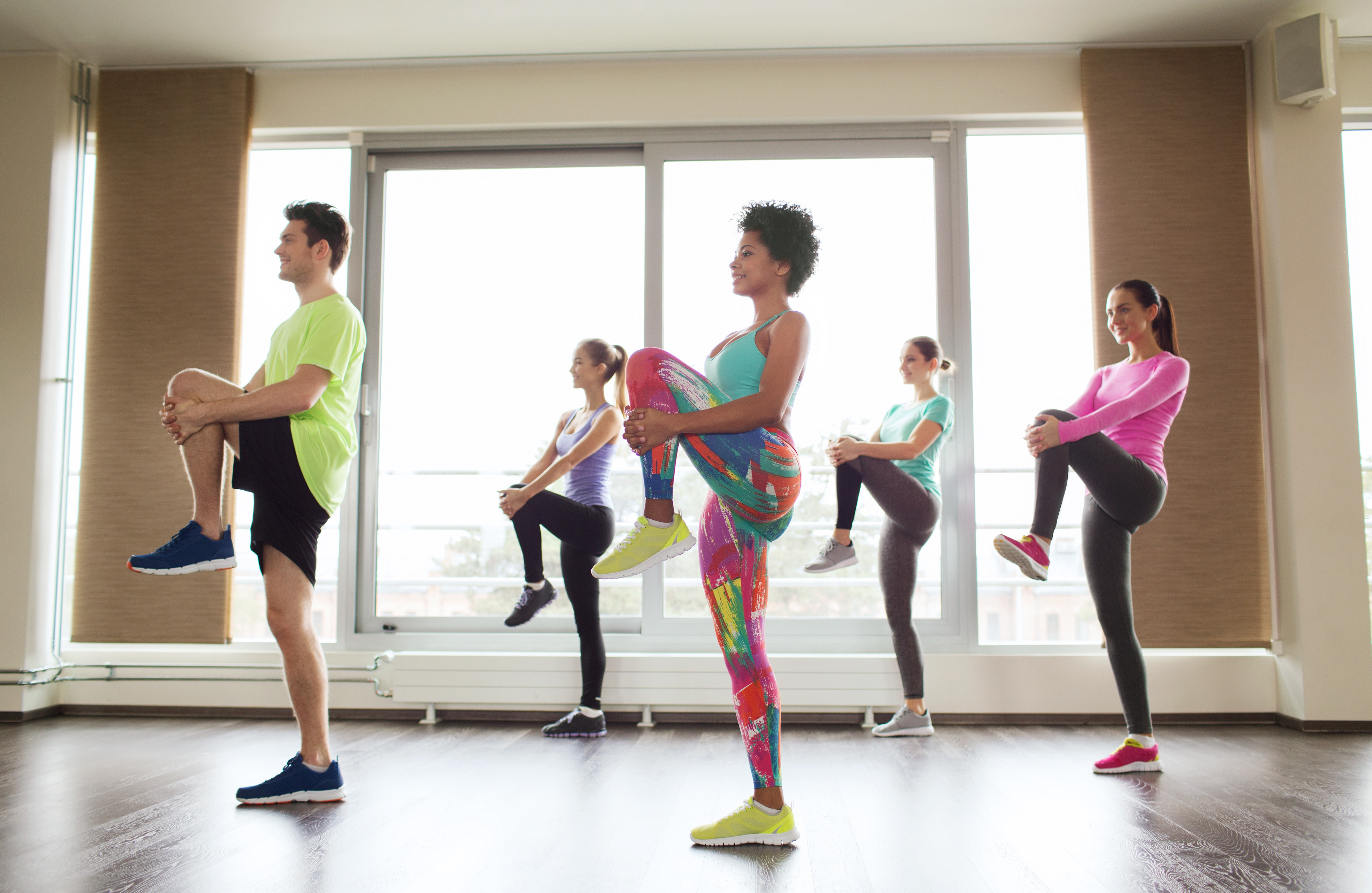 group fitness, employee fitness, wellness programs